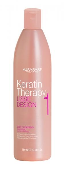 Set Alfaparf Lisse Design Keratin, Sampon 500 ml + Milk 100 ml + Masca 500 ml 0