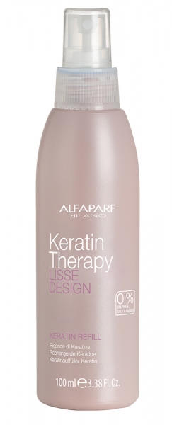 Set Alfaparf Lisse Design Keratin, Sampon 500 ml + Milk 100 ml + Masca 500 ml 2