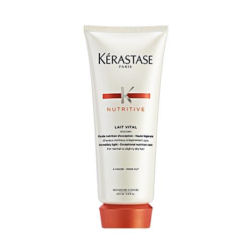 Tratament nutritiv pentru par normal sau uscat Kerastase Nutritive Irisome Lait Vital, 200 ml 0
