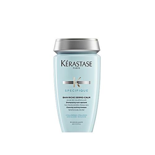 Sampon pentru scalp sensibil si par uscat Kerastase Specifique Dermocalm Bain Riche, 250 ml [0]