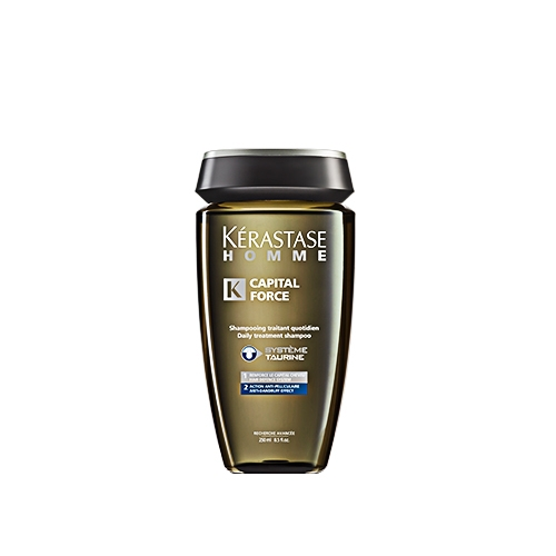 Sampon anti-matreata Kerastase Homme Bain Capital Force Anti-Pelliculaire, 250 ml 1