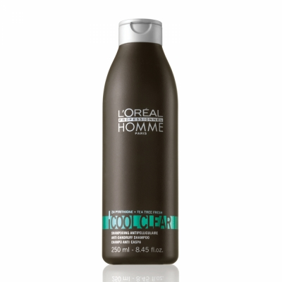Sampon anti-matreata pentru barbati L`Oreal Professionnel Homme Cool Clear, 250ml 0