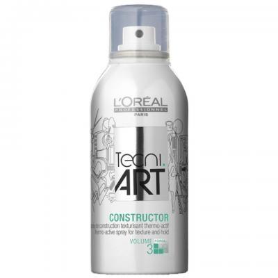 Spray termo-activ pentru textura L`Oreal Professionnel Tecni.ART Constructor, 150ml 0