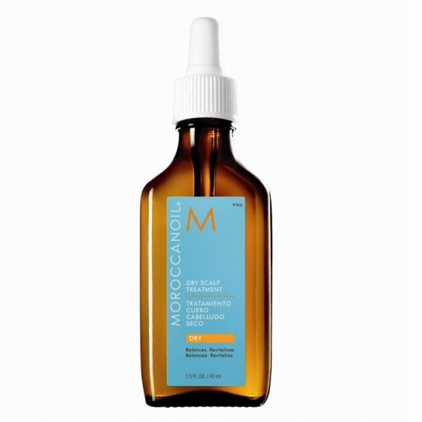 Tratament pentru scalp gras Moroccanoil Scalp Dry-No-More, 45 ml 0