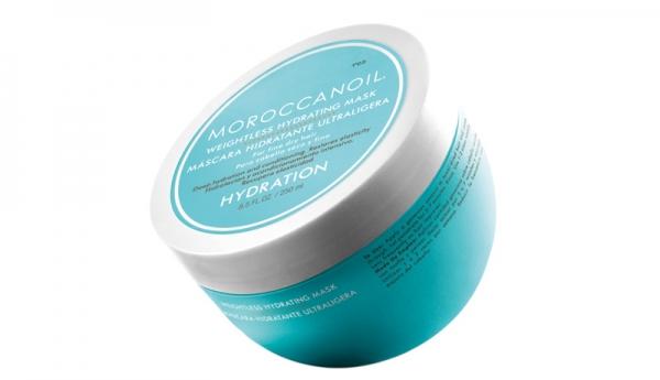 Masca hidratanta pentru par uscat cu fir fin Moroccanoil Weigthless Hydrating Mask, 250 ml 0