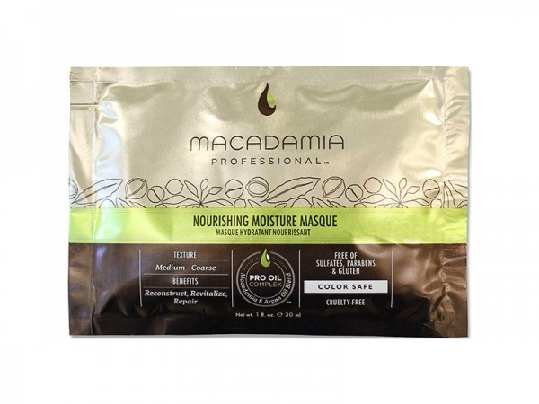 Masca Reparatoare Nourishing Moisture Mascque Macadamia 30ml 1