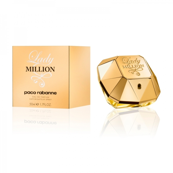 Apa de Parfum Paco Rabanne Lady Million , Femei , 50 ml 0