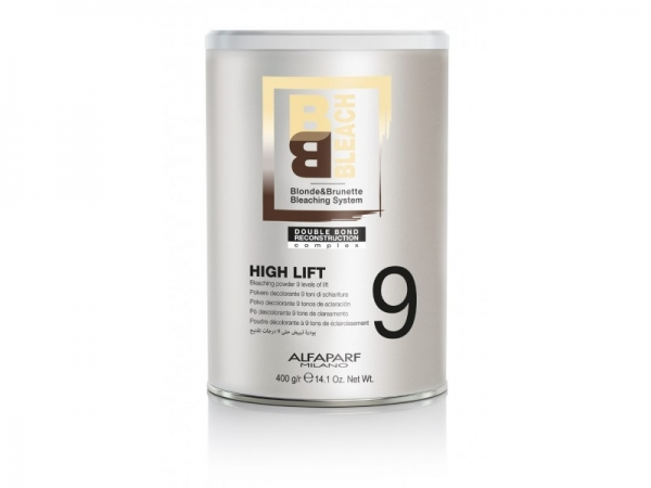 Pudra decoloranta 9 tonuri Alfaparf BB BLEACH HIGH LIFT 9 TONES CNSTR, 400g 0