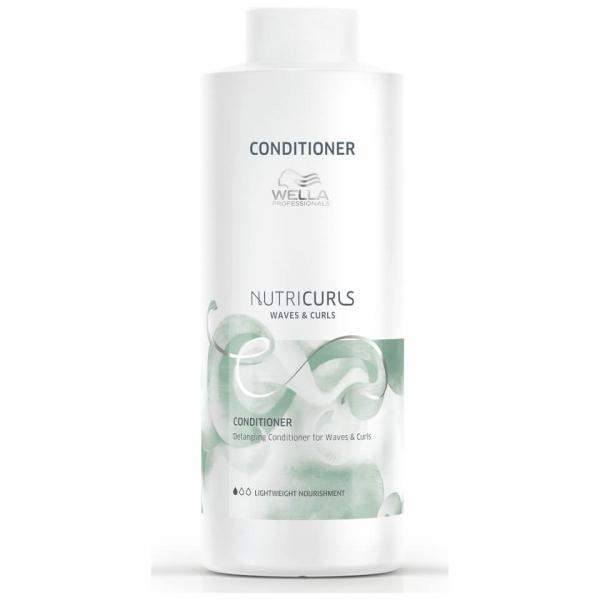 Balsam pentru par cret/ondulat Wella Professionals Nutricurls Curls&Waves, 1000 ml [0]