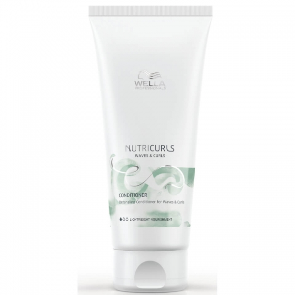 Balsam pentru par cret/ondulat Wella Professionals Nutricurls Curls&Waves, 200 ml 0