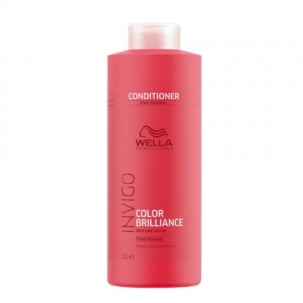 Balsam pentru par vopsit cu fir fin-normal Wella Professionals Invigo Brilliance, 1000 ml 2