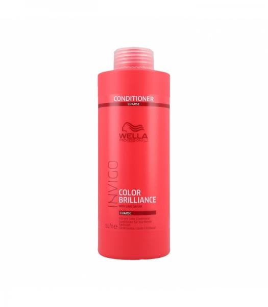 Balsam pentru par vopsit cu fir gros Wella Professionals Invigo Brilliance, 1000 ml 0