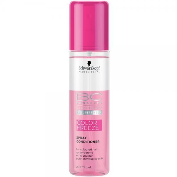 Balsam spray pentru ingrijirea parului vopsit Schwarzkopf Bonacure Color Freeze 200 ml 1