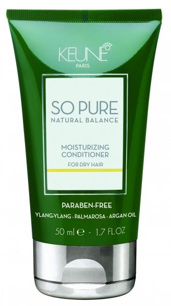 Balsam tratament hidratant pentru par deteriorat Keune So Pure Moisturizing, 50ml 0