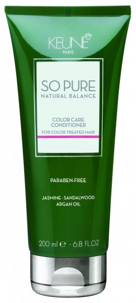Balsam tratament pentru ingrijirea parului colorat Keune So Pure Color Care, 200ml 0