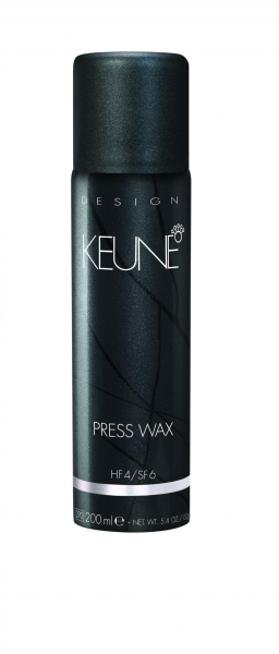 Ceara usoara cu pulverizare si efect satinat Keune Press Wax, 200 ml 1