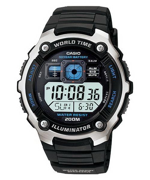 Ceas barbatesc Casio Illuminator AE-2000W-1AVDF 0