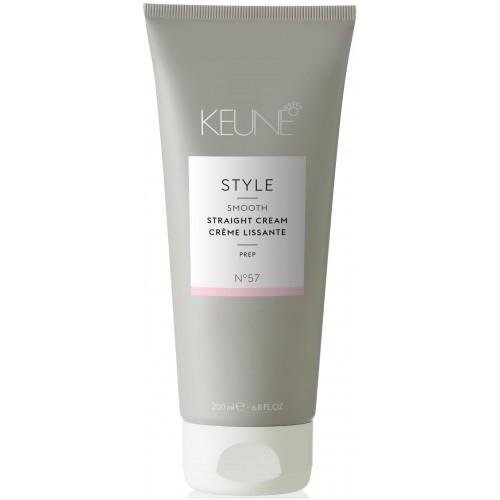 Crema cu activare termica pentru intinderea parului Keune Style Straight Cream, 200 ml 0