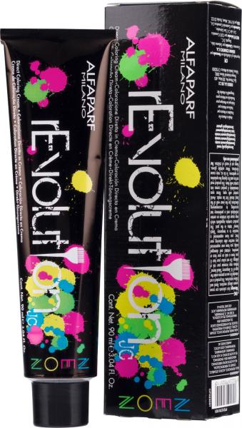 Crema de colorare directa Alfaparf rEVOLUTION JC NEON ELECTRIC RED ,90 ml 0