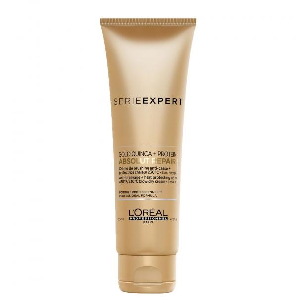 Crema leave-in pentru protectie termica L`Oreal Professionnel Serie Expert Absolut Repair Gold, 125 ml [0]