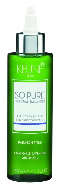 Elixir cu efect calmant pentru scalp sensibil Keune So Pure Calming, 150ml [0]