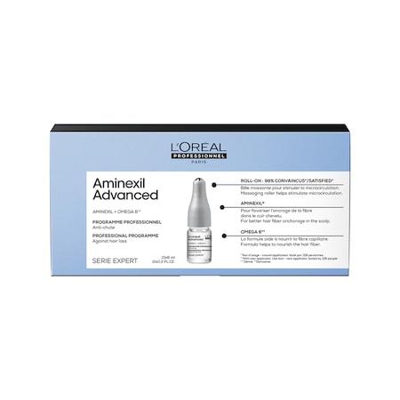 Fiole roll-on impotriva caderii parului L`Oreal Professionnel Serie Expert Aminexil Advanced, 10*6 ml [0]