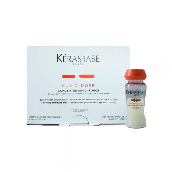 Fiole tratament impotriva caderii parului Kerastase Genesis Fusio-Dose Concentre Ampli-Force, 10 * 12 ml 0