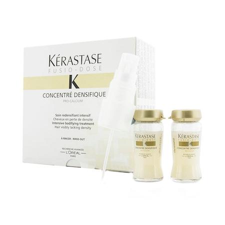 Fiole tratament pentru par cu fir subtire/fara volum Kerastase Fusio-Dose Concentre Densifique, 10 * 12 ml 0