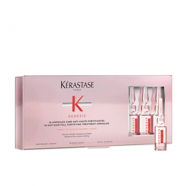 Fiole tratament pentru scalp anti-matreata Kerastase Genesis Cure Anti-Chute Fortifiantes, 10 * 6 ml 0