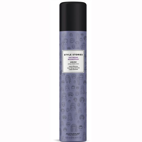 Fixativ cu fixare extra puternica Alfaparf Style Stories Extra Strong Hairspray, 500 ml [0]
