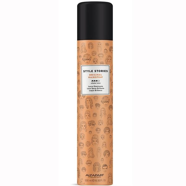 Fixativ cu fixare puternica Alfaparf Style Stories Original Hairspray, 500 ml 0