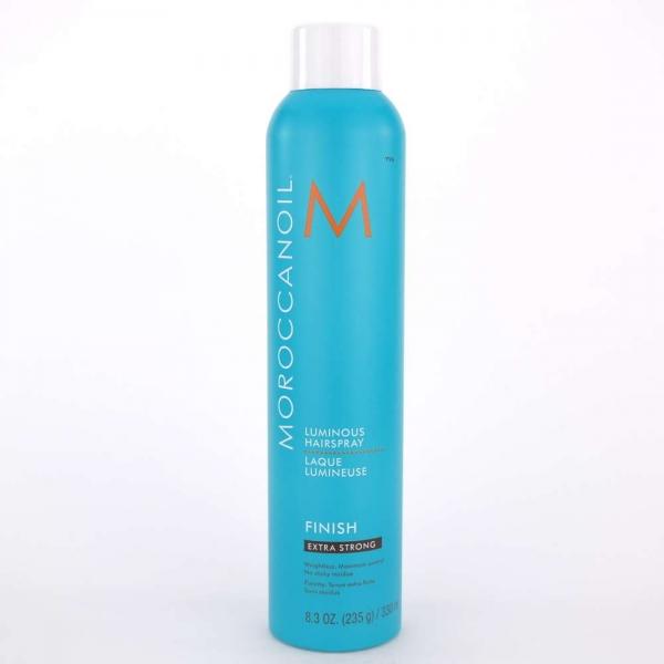 Fixativ foarte puternic pentru par Moroccanoil Luminous Spray Extra Strong, 330 ml 0