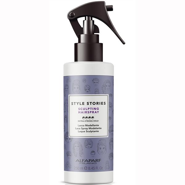 Fixativ lichid cu fixare extra puternica Alfaparf Style Stories Sculpting Hairspray, 250 ml 0