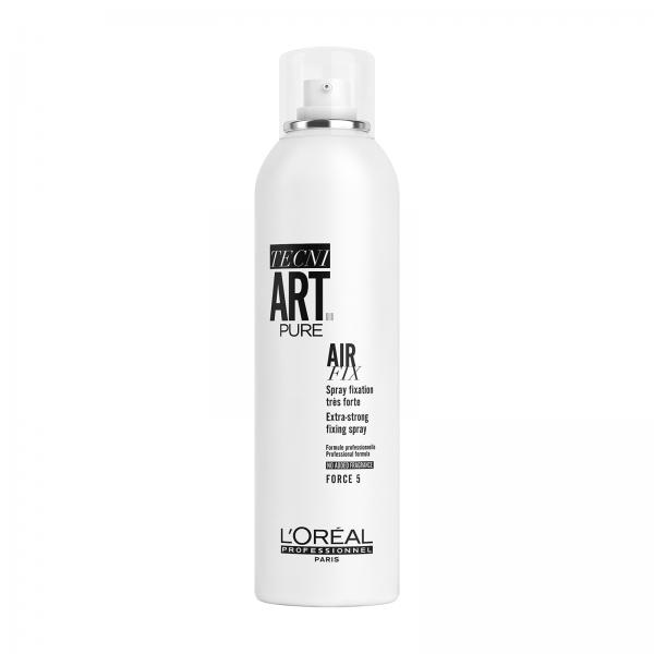 Fixativ pentru fixare instantanee fara parfum L`Oreal Professionnel Tecni.Art Air Fix Pure Spray , 400 ml 0