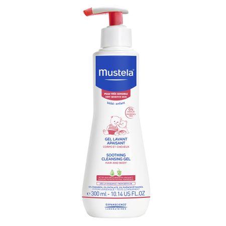 Gel de curatare calmant pentru piele sensibila Mustela, 300 ml 0
