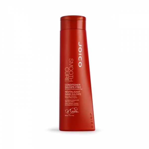 JOICO Smooth Cure  - balsam fara sulfati pt par cret/rebel/fir gros 300ml 1
