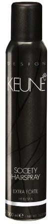 KEUNE Society Hairspray - Lac fixativ extra forte, 300 ml 1