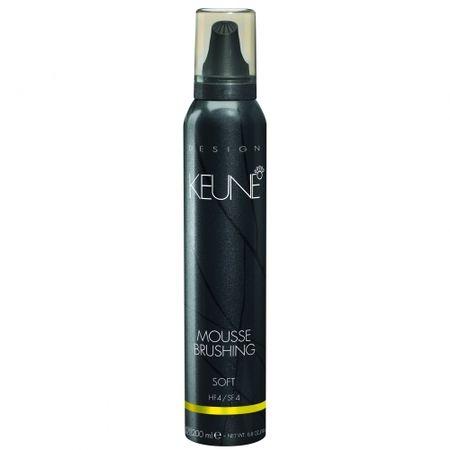 Spuma coafanta cu fixare medie KEUNE Mousse Brushing , 200 ml 0