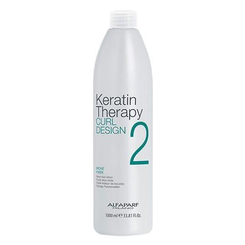 Lotiune de fixare a buclelor Alfaparf Keratin Therapy Curl Design Move Fixer 2, 1000 ml 0