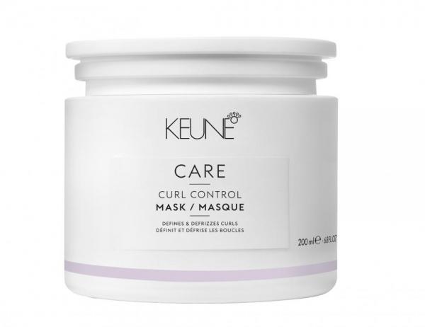 Masca cu cheratina pentru reactivarea buclelor Keune Care Curl Control, 200 ml 0