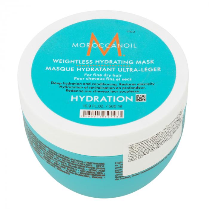 Masca hidratanta pentru par uscat cu fir fin Moroccanoil Weigthless Hydrating Mask, 500 ml [0]