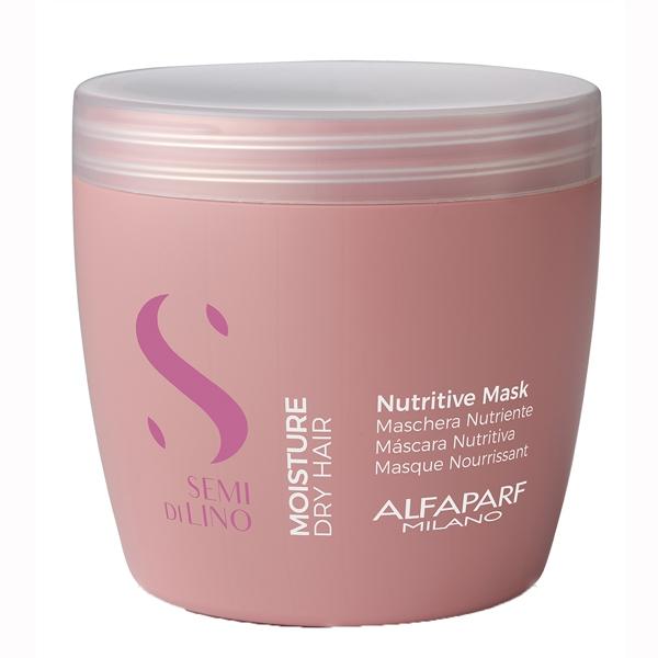 Masca pentru hidratare fara sulfati Alfaparf Semi di Lino Moisture Nutritive Mask, 500 ml 1