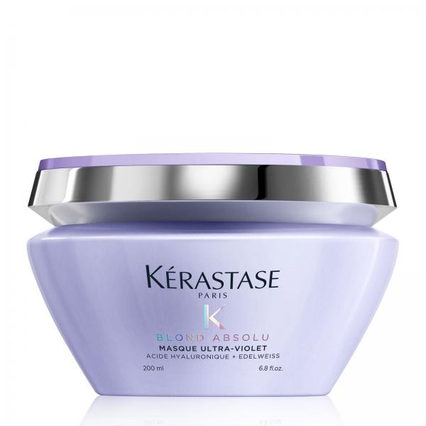 Masca pentru neutralizarea tonurilor de galben Kerastase Blond Absolu Masque Ultra-Violet, 200 ml 0