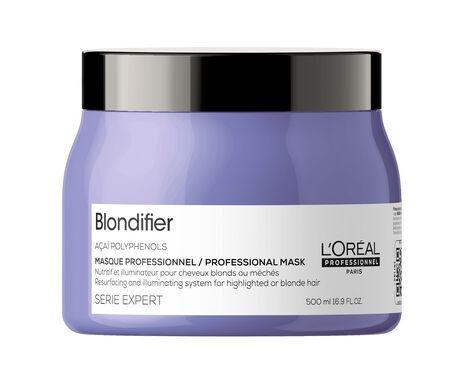 Masca pentru par blond L`Oreal Professionnel Serie Expert Blondifier, 500 ml [0]