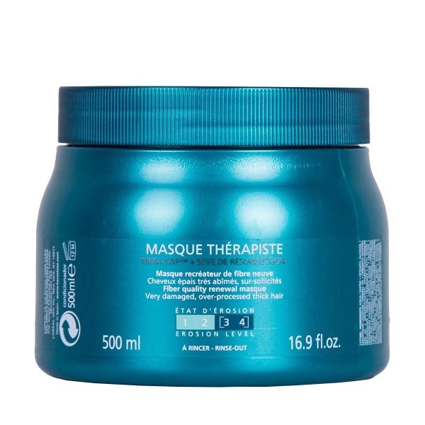 Masca pentru par degradat Kerastase Masque Resistance Therapiste, 500 ml 0