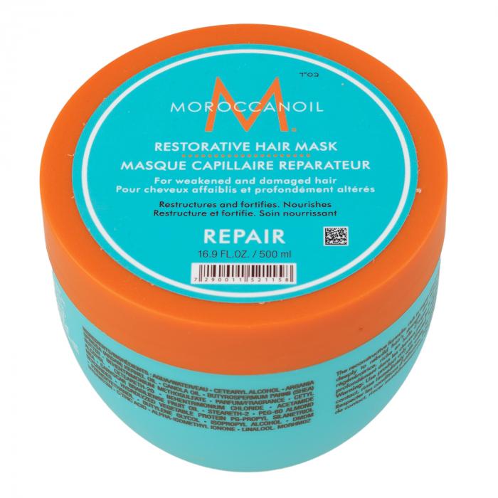 Masca  pentru par degradat Moroccanoil Restorative Hair Mask, 500 ml [0]