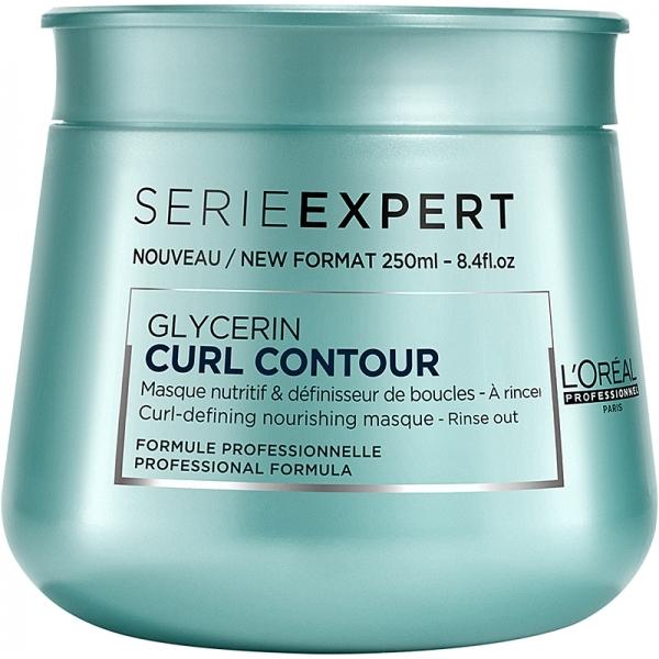 Masca pentru par ondulat L`Oreal Professionnel Serie Expert Curl Contour, 250ml  0