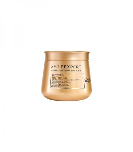 Masca pentru par uscat L`Oreal Professionnel Serie Expert Nutrifier, 250 ml [0]