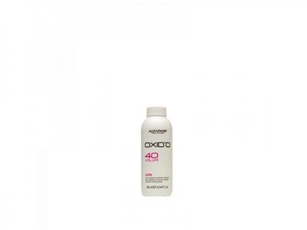 Oxidant crema cu peroxid de hidrogen 12% Alfaparf  OXID'O H202 40VOL ,90ml 0