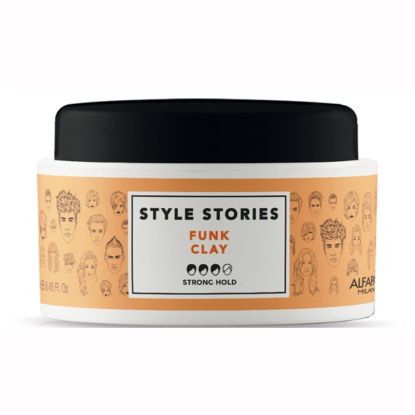 Pasta de par mata Alfaparf Style Stories Funk Clay, 100 ml 0